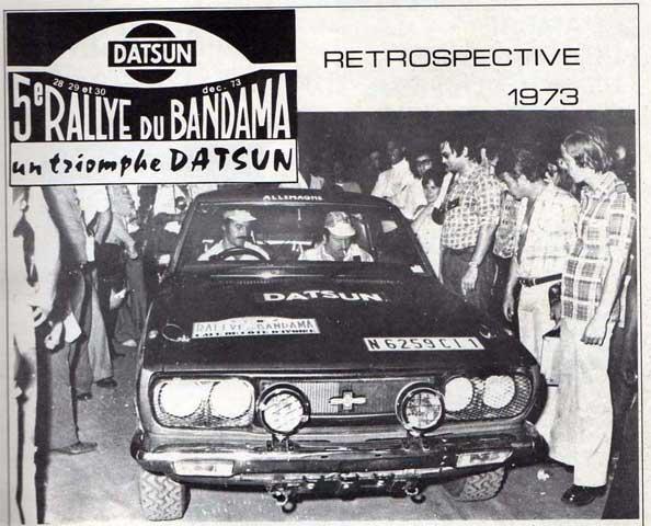 Résurection DATSUN 180B SSS P610 GR2 rallie du BANDAMA 1974 - Page 2 610_ss10