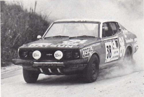 Résurection DATSUN 180B SSS P610 GR2 rallie du BANDAMA 1974 - Page 2 Ambros12
