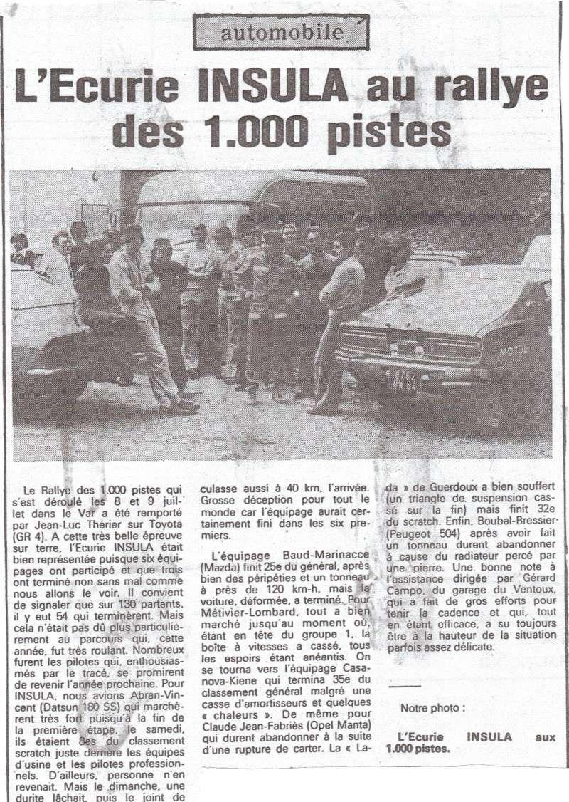 Résurection DATSUN 180B SSS P610 GR2 rallie du BANDAMA 1974 - Page 4 Articl17