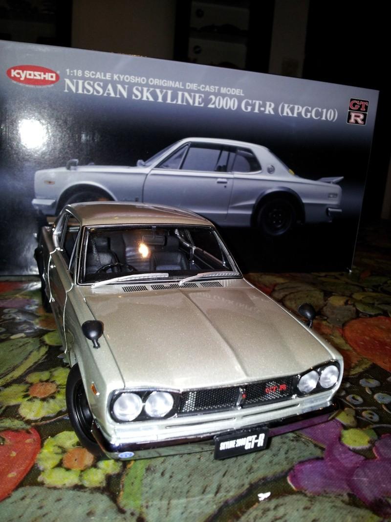 NISSAN SKYLINE 2000 GT-R KPGC10 KYOSHO 1/18ème Kyosho10