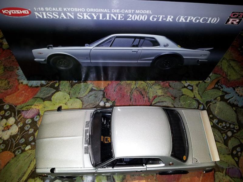 NISSAN SKYLINE 2000 GT-R KPGC10 KYOSHO 1/18ème Kyosho15