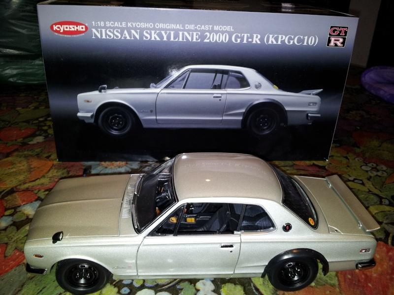 NISSAN SKYLINE 2000 GT-R KPGC10 KYOSHO 1/18ème Kyosho16