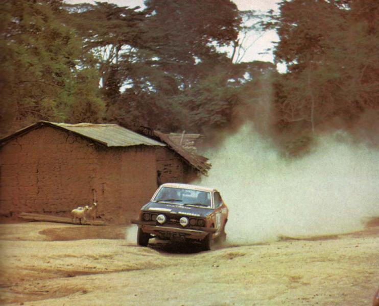 Résurection DATSUN 180B SSS P610 GR2 rallie du BANDAMA 1974 - Page 2 Larous10