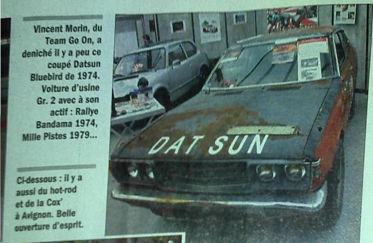 Résurection DATSUN 180B SSS P610 GR2 rallie du BANDAMA 1974 - Page 4 Lva10