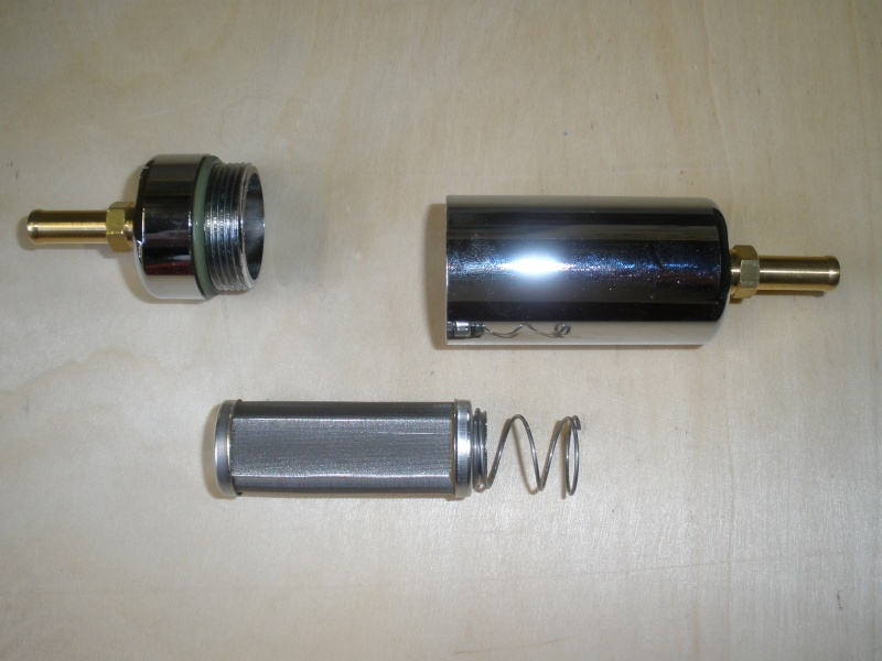 RACING : Récupérateur d'huile de chez EXACT + flitre éssence Photos15