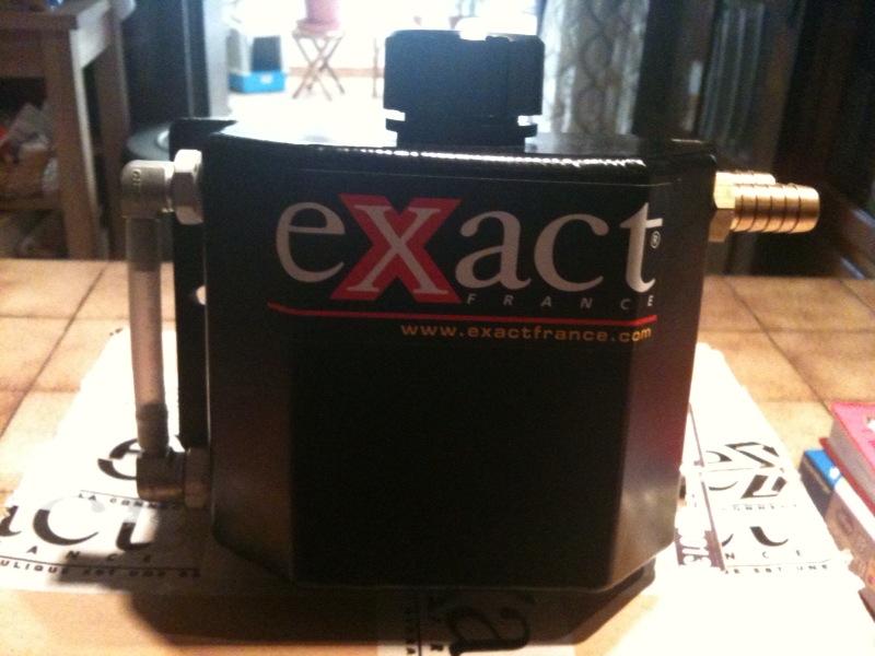 RACING : Récupérateur d'huile de chez EXACT + flitre éssence Recupa10
