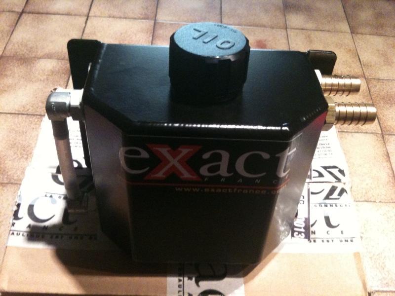 RACING : Récupérateur d'huile de chez EXACT + flitre éssence Recupa11
