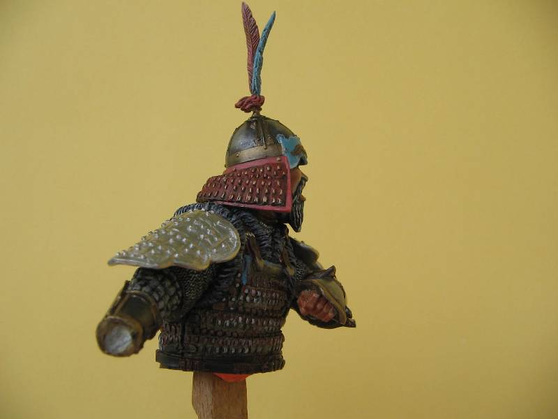 Cavalier Cataphracte Timouride 14ème siècle Img_1633