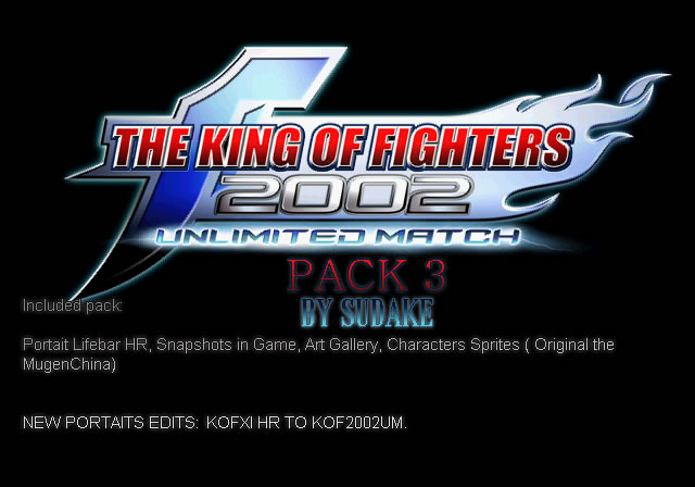 The King Of Fighters 2002 Unlimited Match PACK 3 Liberado Anunci10