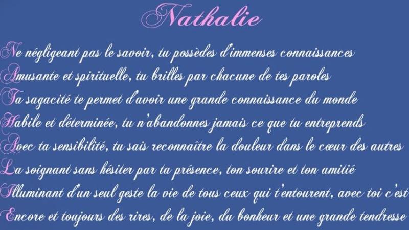 NATHALIE Etymologie 38740110