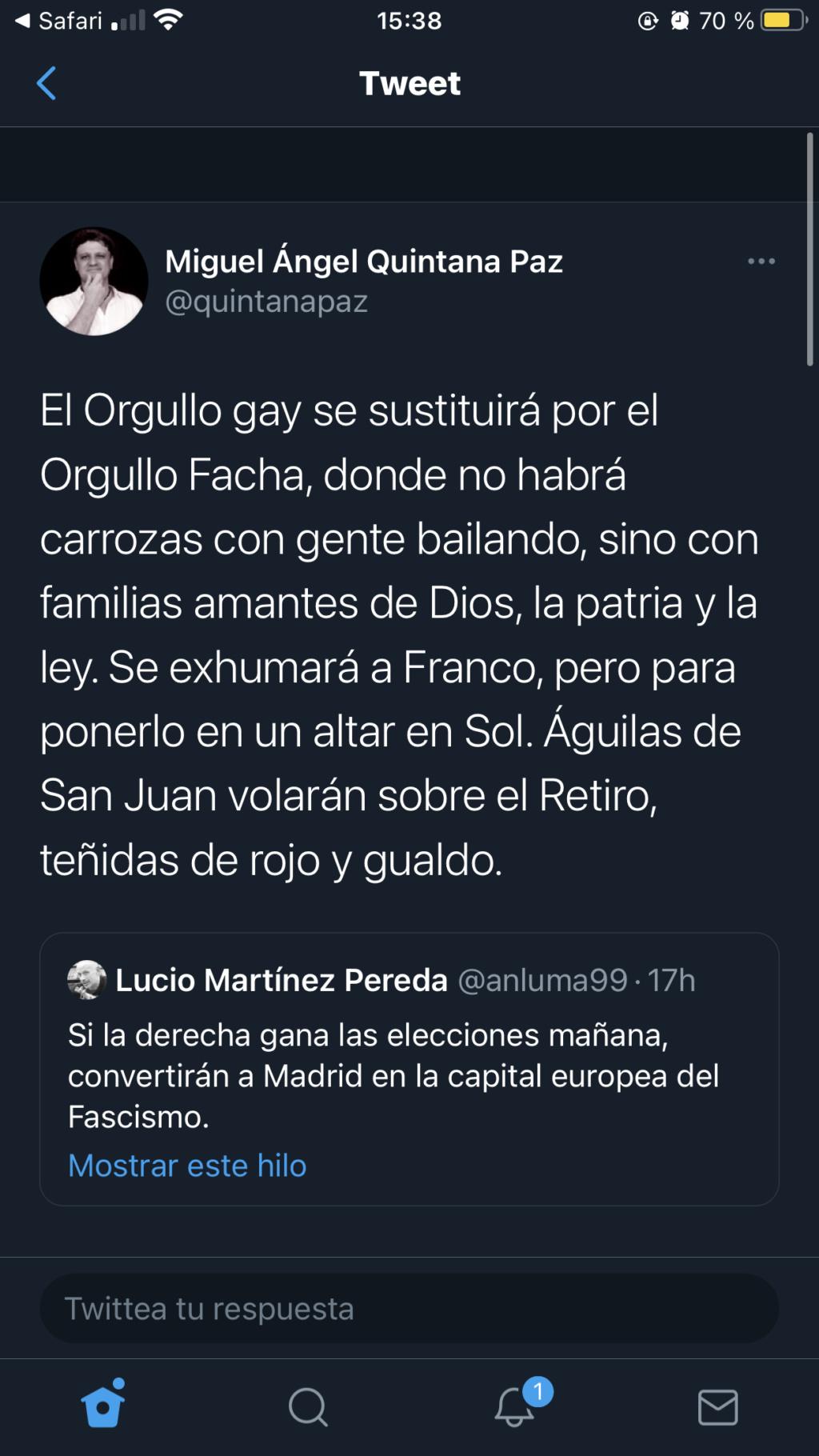 Elecciones a la Asamblea de Madrid 4 de mayo de 2021! ¡Vuelve la guerra fría!.  - Página 18 90849610