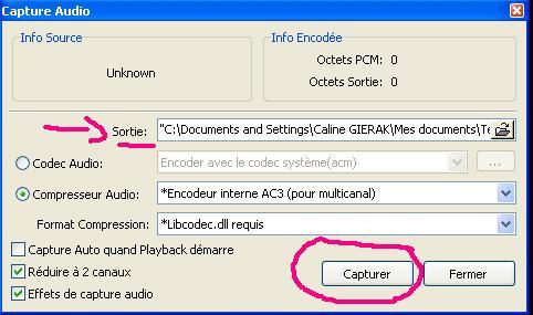 [KM Player] Extraire un passage audio et/ou vidéo 1510