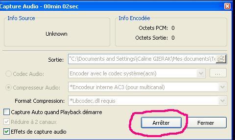 [KM Player] Extraire un passage audio et/ou vidéo 1610