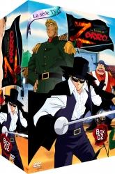Coffret DVD 2 La légende de Zorro 548210