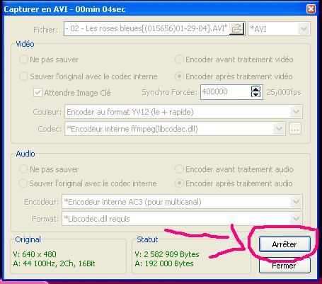 [KM Player] Extraire un passage audio et/ou vidéo 810