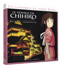 CD Wasabi Records Le voyage de Chihiro Chihir10