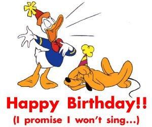 Joyeux anniversaire Isa ^^ Donald10