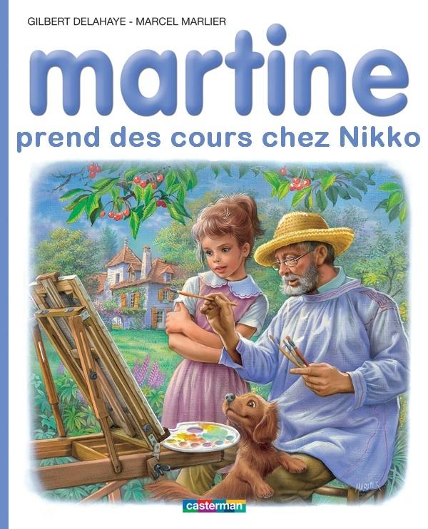 "Couvertures ""Martine"" - spécial forum Martin10"