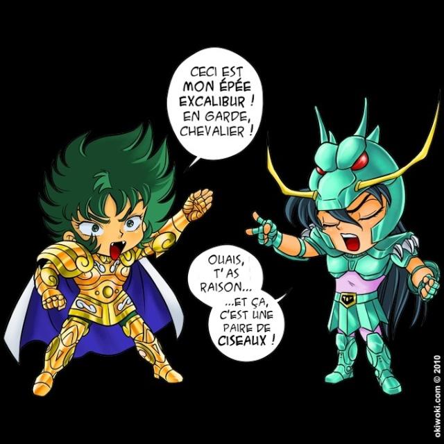 Parodie d'images de dessins animés Papier10