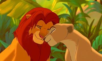 Simba et Nala (Le roi lion) Tumblr11