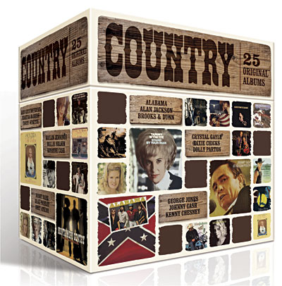 Sony Music France sort un coffret 25 ALBUMS DE COUNTRY 08869710