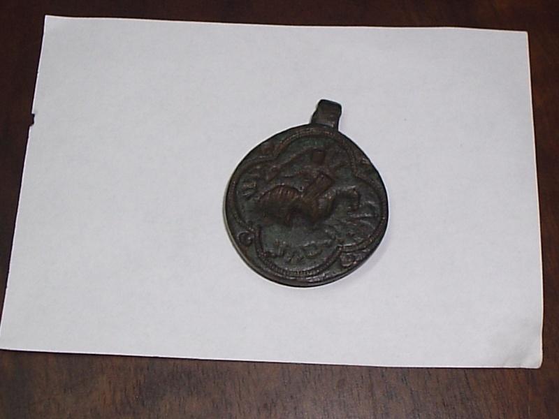 judio - Sigillun con caballero medieval ¿Judío? (s. XII -XIII) P2120011