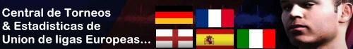 Central de Torneos & Ligas Europeas.
