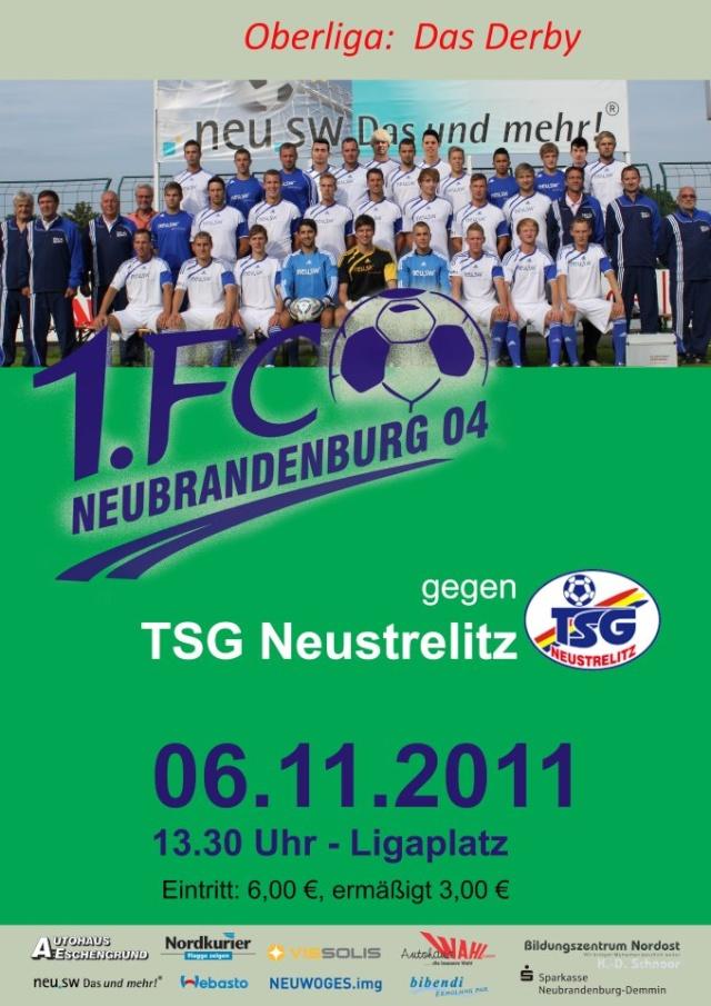 12. Spieltag: 1. FC Neubrandenburg 04 - TSG Neustrelitz 38433010