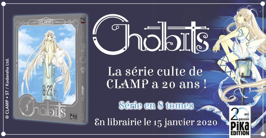 [NEWS] Une réédition de Chobits pour les 20 ans de Pika Edition Chobit10