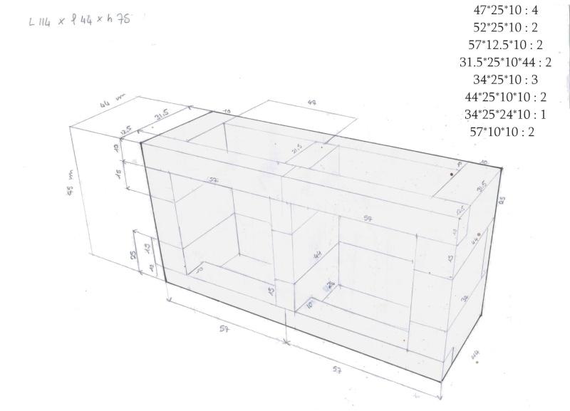 Construction D Un Meuble Aquarium En Beton Cellulaire