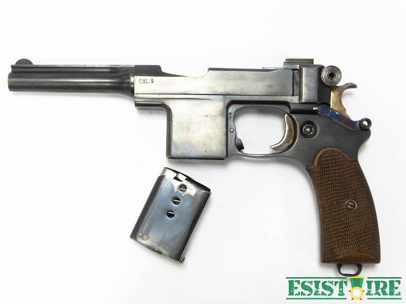 Evolution des pistolets Bergmann Bm-310
