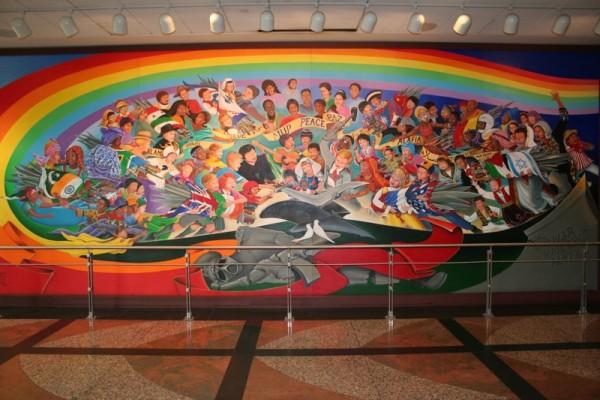 L'AÉROPORT INTERNATIONAL DE DENVER ET SES FRESQUES Denver18