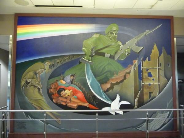L'AÉROPORT INTERNATIONAL DE DENVER ET SES FRESQUES Denver19