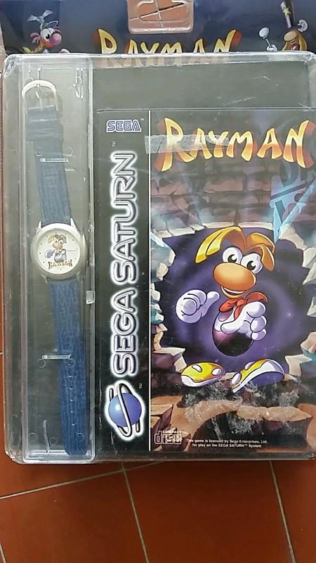 Rayman sega saturn + montre en cuir sous blister rigide 02a5b_10