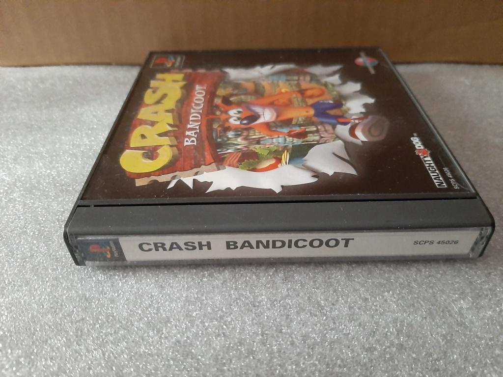 [RECH] pack GT ou tekken 3 + dual shock import asie [ECH] crash bandicoot import asie PS1 20200722