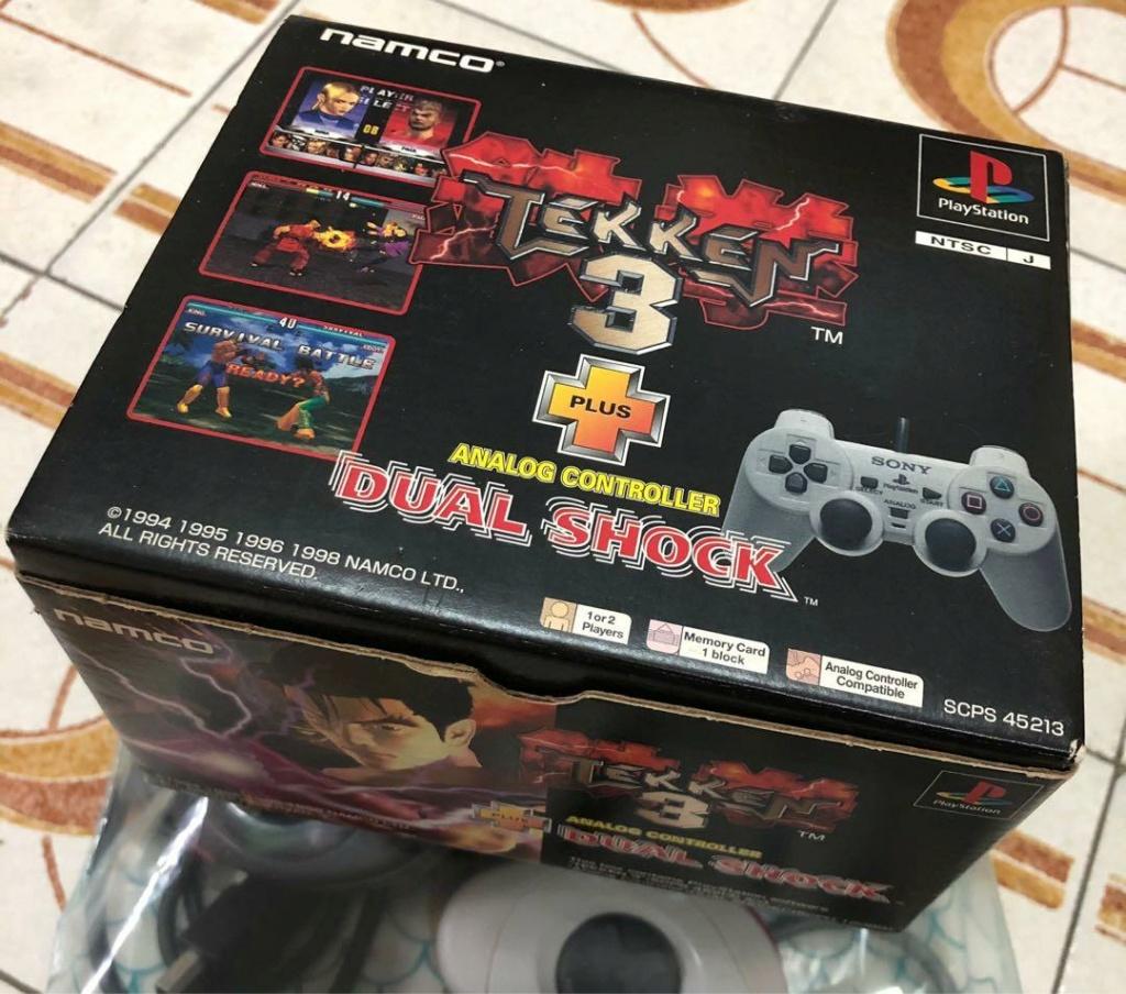 [RECH] pack GT ou tekken 3 + dual shock import asie [ECH] crash bandicoot import asie PS1 Sony_p10