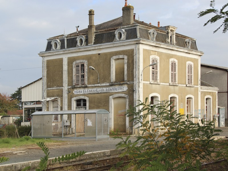 Ignoring the obvious - Railway history in the Charente Chasse10