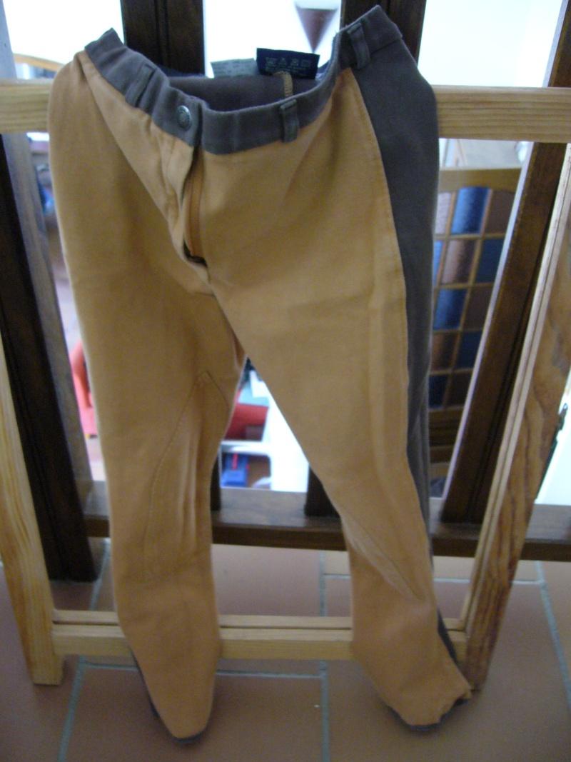Pantalon équithème bicolore t.38 P1070711