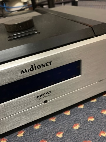 Audionet ART G2 cd player and EPS external power supply (Used) 097d7110
