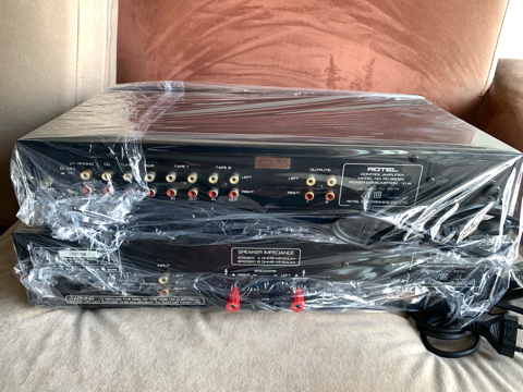 Rotel RC-960BX preamp and RB-960BX stereo power amplifier (Used) 0c86e210