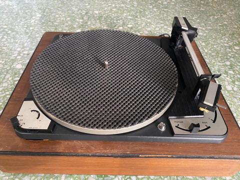 Dual 1010 turntable with Shure M55E cartridge (Used) 10769610