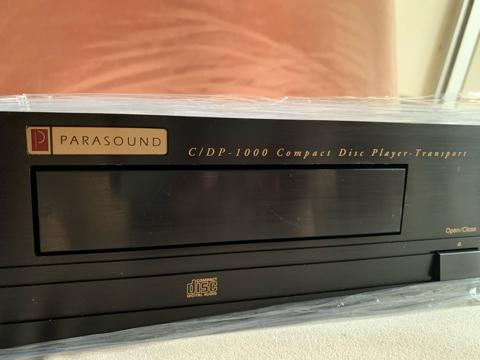 Parasound C/DP 1000 CD player (Used) 24c3d910
