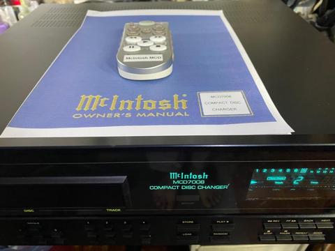 McIntosh MCD7008 cd changer player (Used) 2a80f310