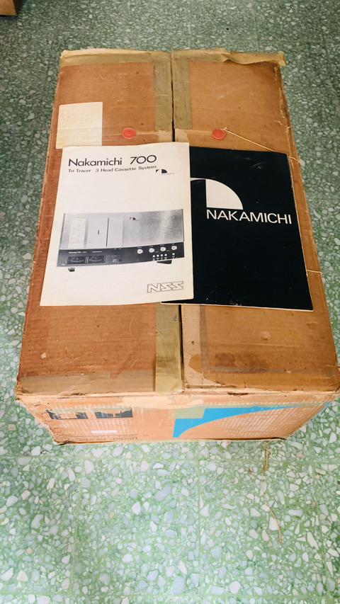 Nakamichi 700 Nakamichi 700 Tri Tracer Cassette Deck Player (used) 30d27b10