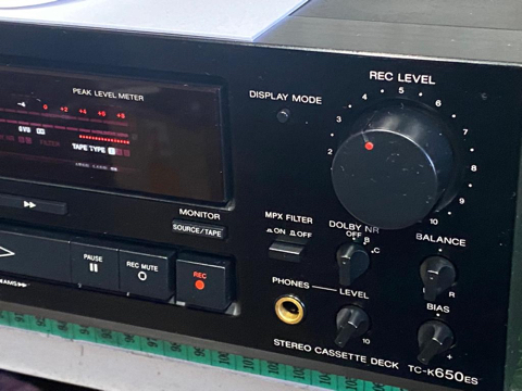 Sony TC-K650ES 3 head cassette deck (Used) sold 5d06f710