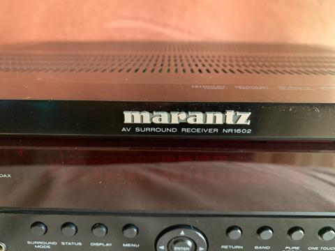 Marantz NR1602 AV receiver(Used) 65fc6110