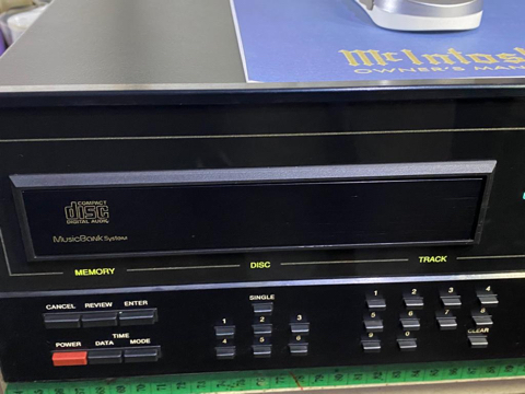 McIntosh MCD7008 cd changer player (Used) 7d4c3a10
