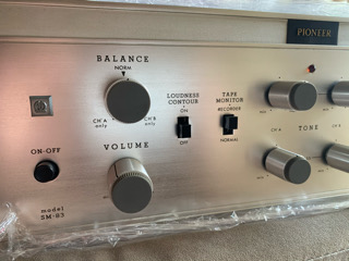 Pioneer SM83 Integrated amp (Used) 88f07a10