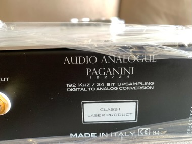 Audio Analogue Paganini CD player (Used)Sold  94bf0a10