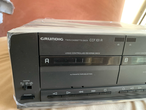 GRUNDIG CCF101 A Twin Deck Cassette Player (used) sold 9a49c810